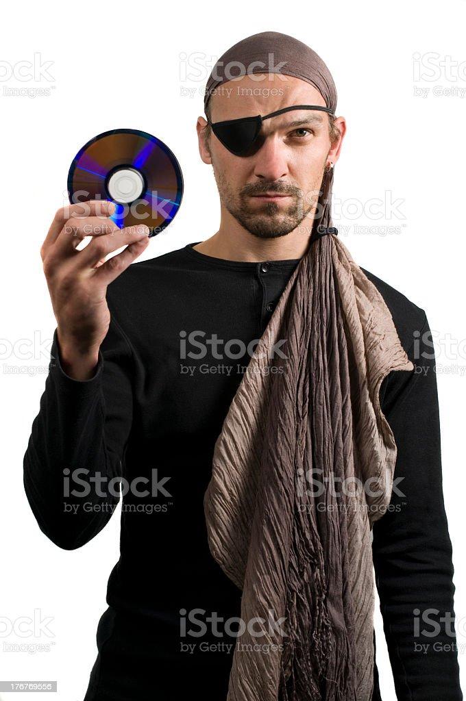 cd piracy royalty-free stock photo