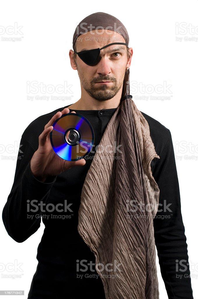 cd piracy stock photo
