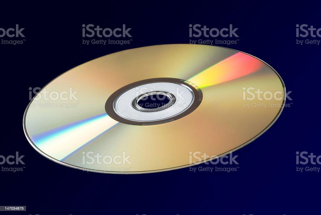 CD/DVD/Blue-Ray royalty-free stock photo