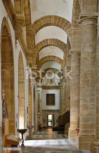 istock Cádiz Ancient Cathedral Entryway 1316840502