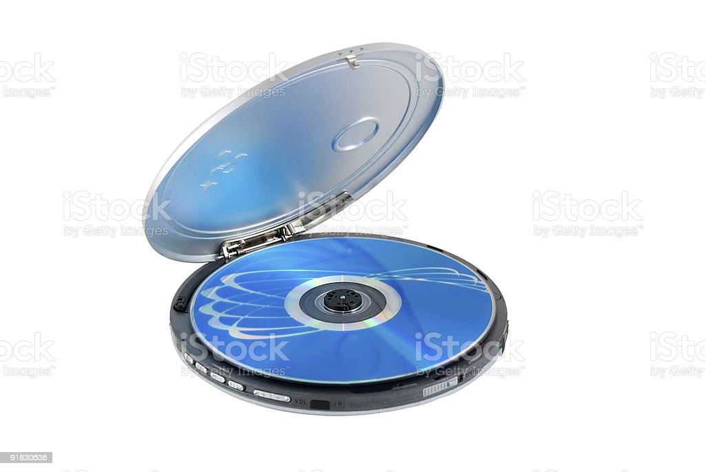 CD-player stock photo