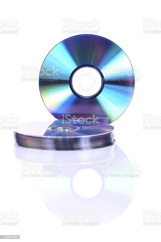 cd-rom discs royalty-free stock photo