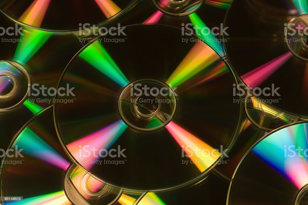CDs royalty-free stock photo