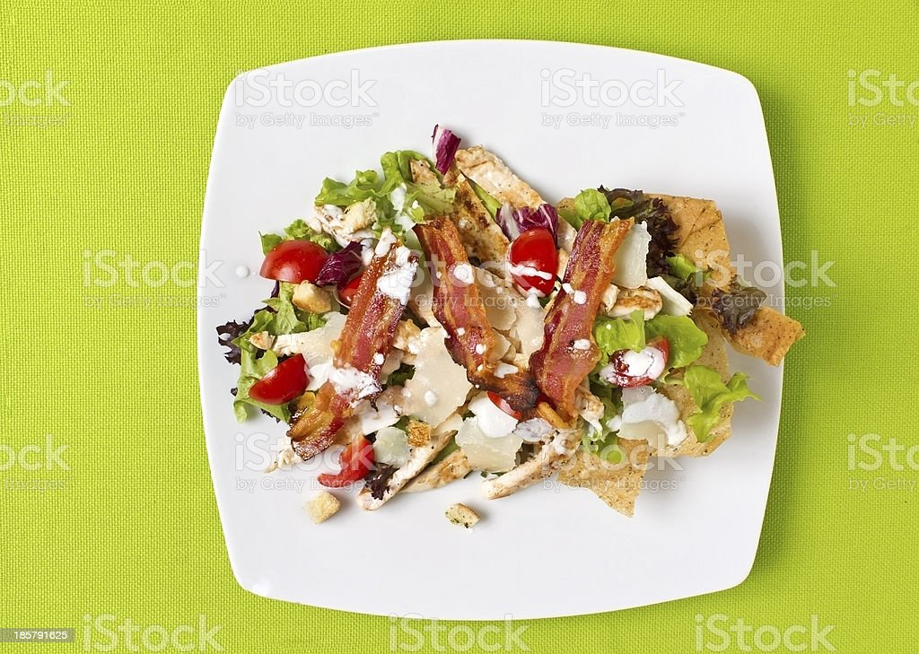 Ceasar Salad royalty-free stock photo