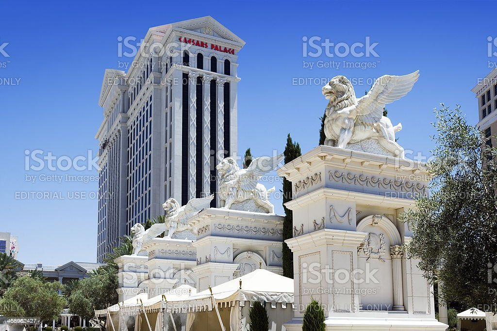 Ceasers Palace Griffins royalty free stockfoto