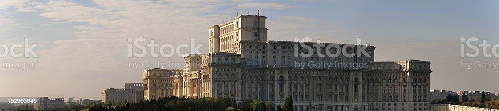 Ceauşescu's Palace stock photo