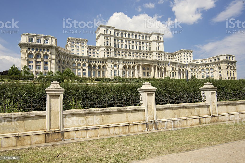 Ceausescu's Palace, Bucharest stock photo