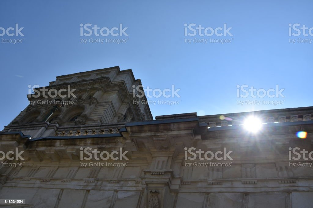 Ceausescu's Palace stock photo