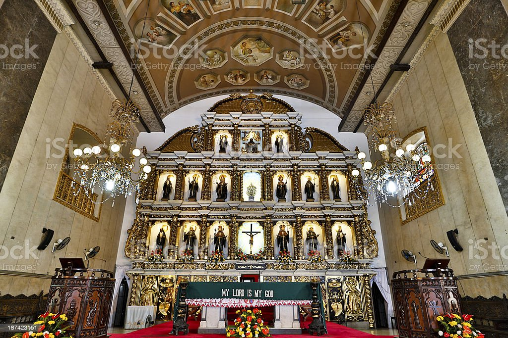 Cebu Basilica royalty-free stock photo
