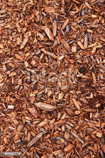The perfect Background for your project on the web or in print: a closeup of cedar chips.