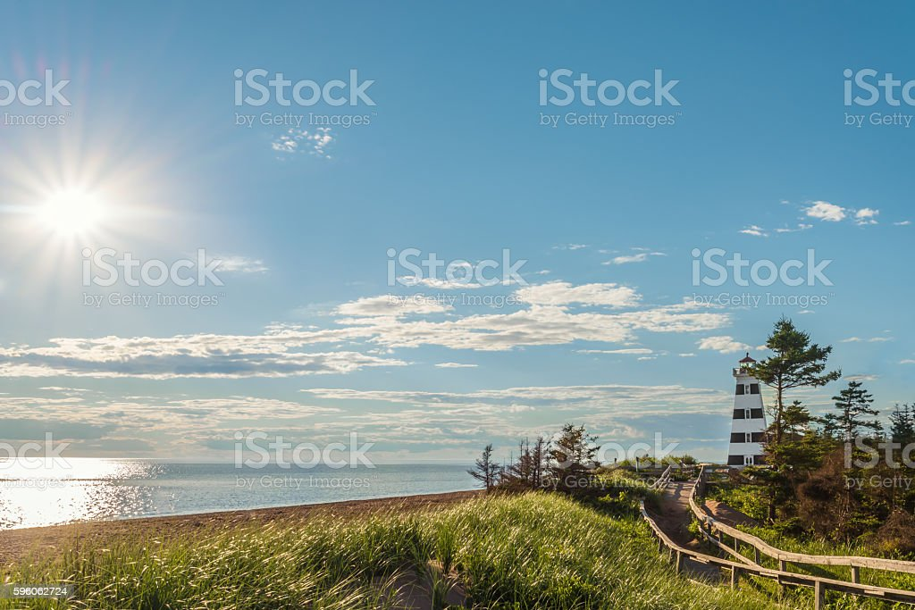Cedar Dunes Provincial Park's Beach royalty-free stock photo