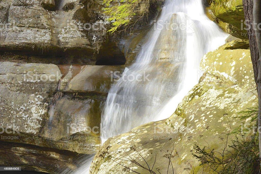 Cedar Falls 2 stock photo