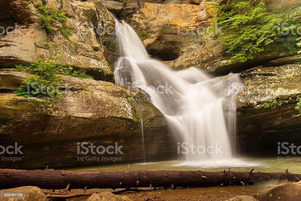 Cedar Falls in Ohio stock photo