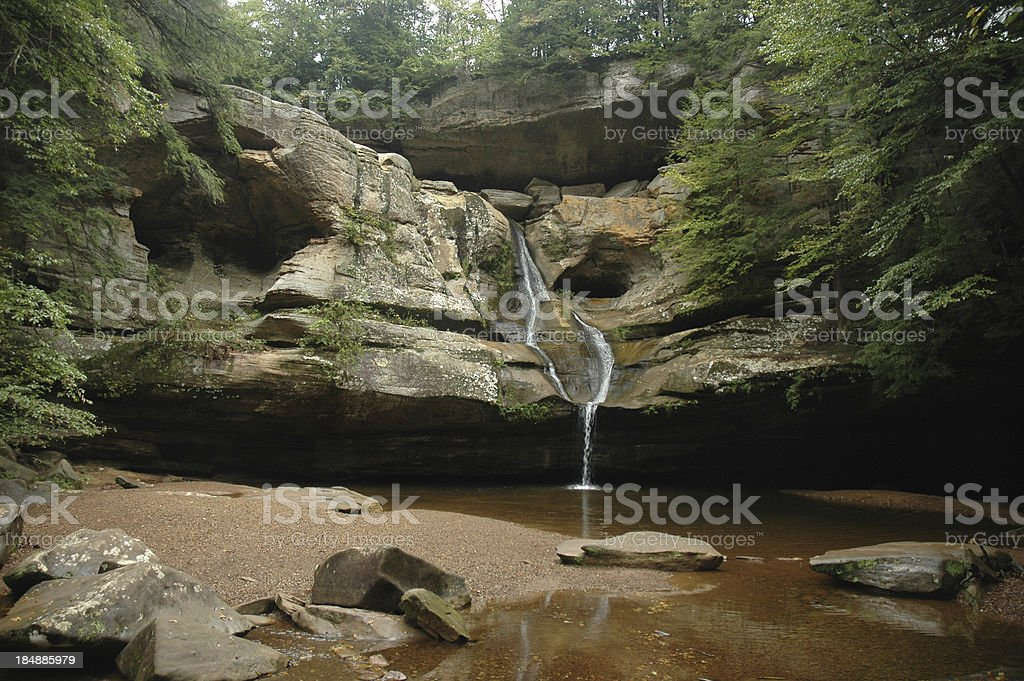 Cedar Falls in Retrospect stock photo