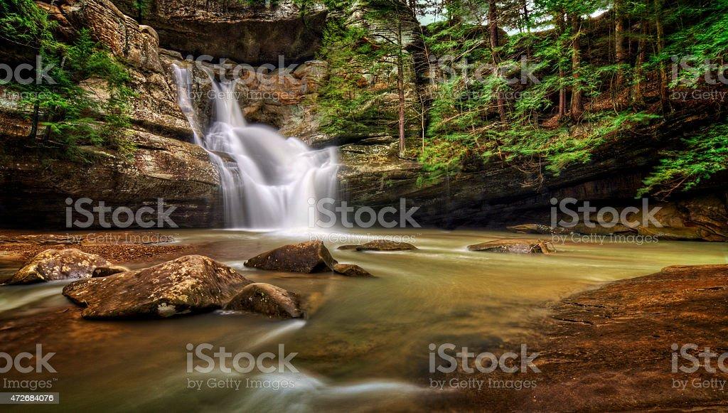 Cedar Falls Ohio stock photo