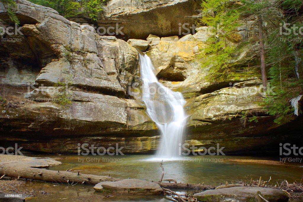 Cedar Falls stock photo