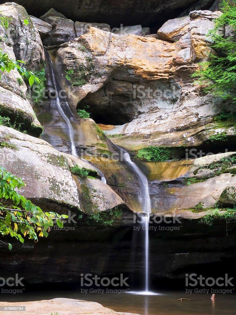 Cedar Falls Waterfall stock photo