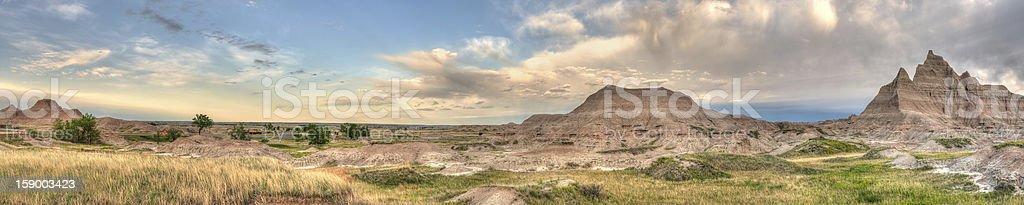 Cedar Pass Panorama One royalty-free stock photo