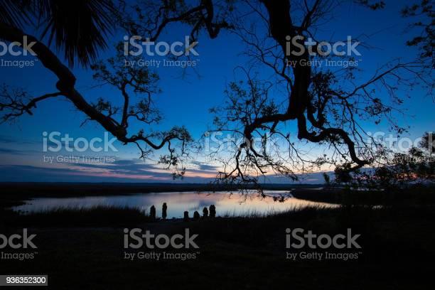 Photo of Cedar Point blue hour