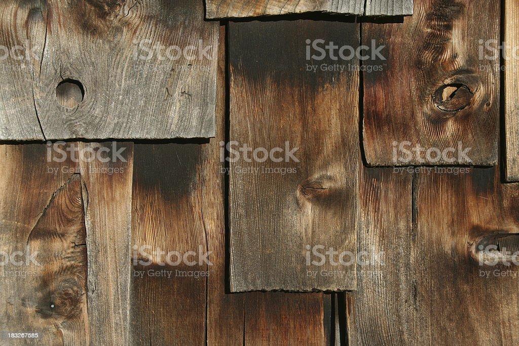 Cedar Shakes Background royalty-free stock photo