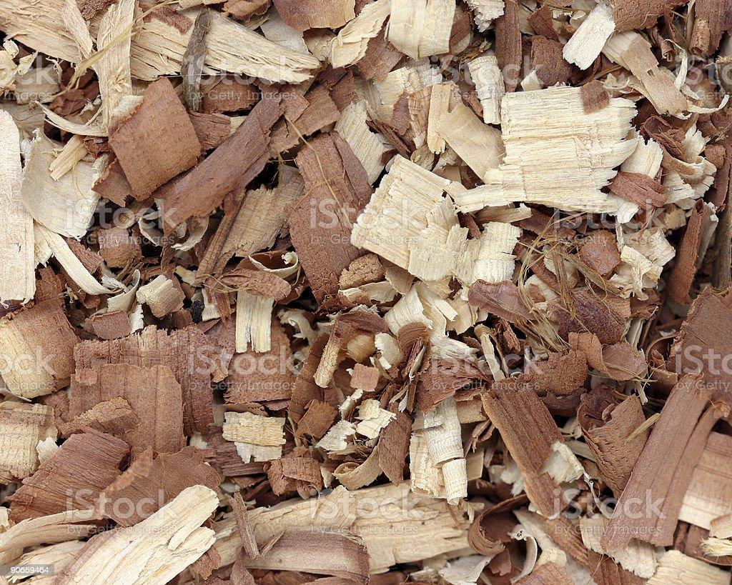 cedar shavings royalty-free stock photo