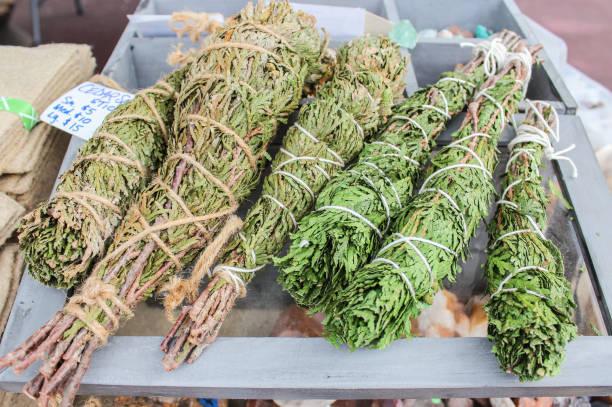 Cedar wraps for sale stock photo