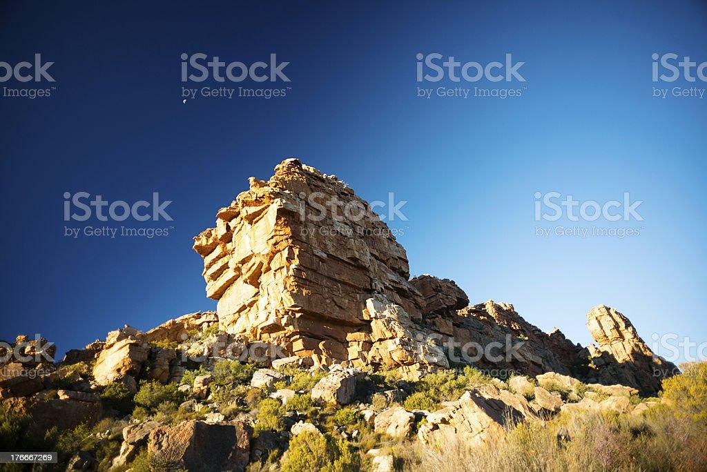 Cederberg formaciones rocosas foto de stock libre de derechos