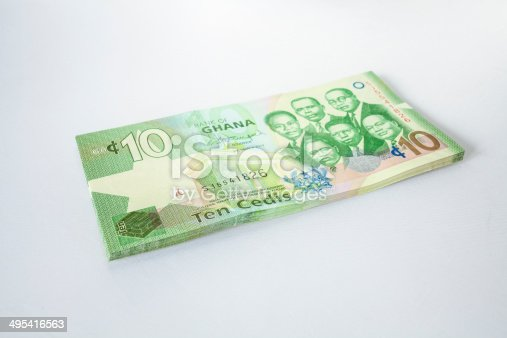 Ghanaian Currency - Cedi.