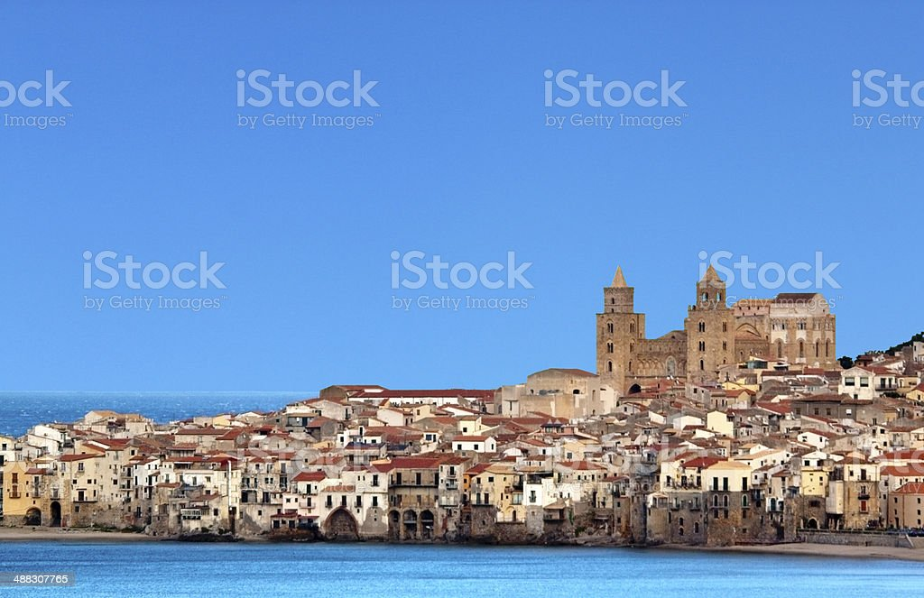 Cefalù sexies stock photo