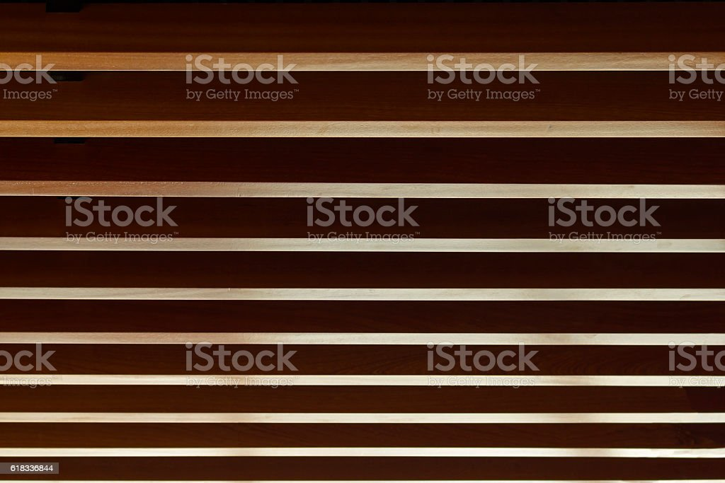 Ceiling Battens stock photo