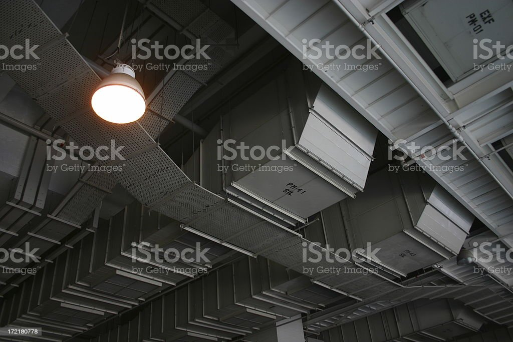 ceiling cool 1 royalty-free stock photo
