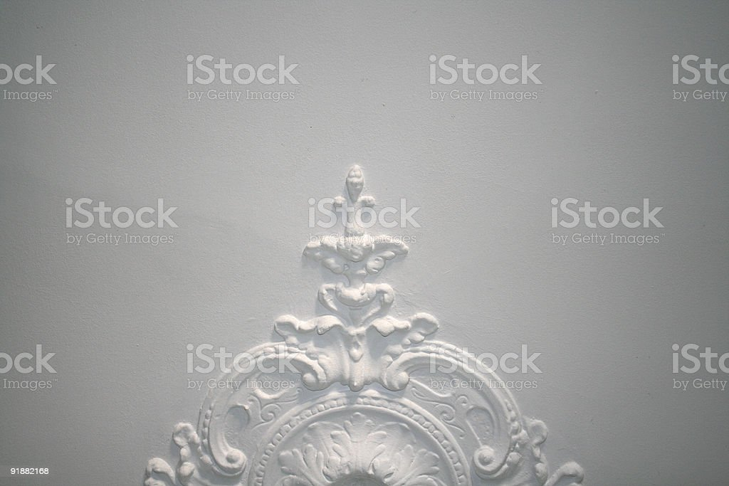 ceiling detail stock photo