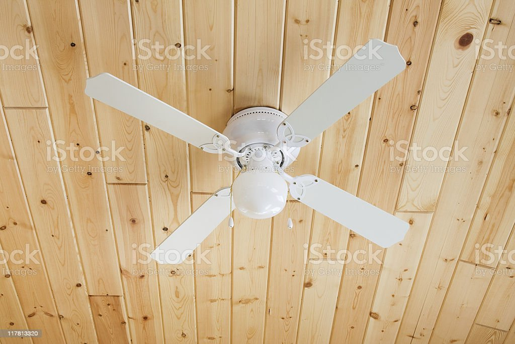 Ceiling fan on knotty pine stock photo more pictures of ceiling ceiling fan on knotty pine royalty free stock photo aloadofball Gallery
