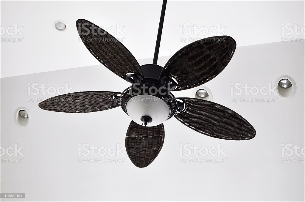 Ceiling Fan stock photo