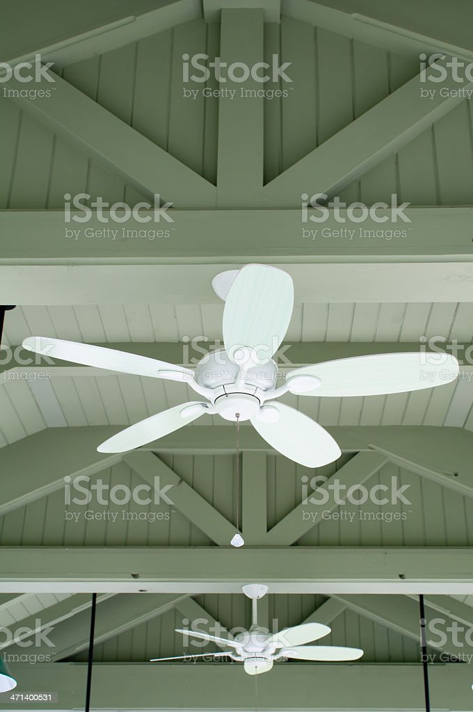 Ceiling fans stock photo