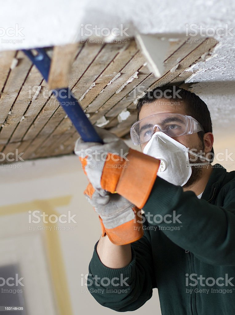 Ceiling Fix stock photo