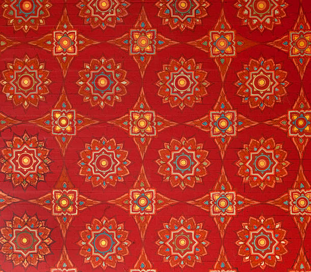 royalty free mural buddhism patterns pictures images and stock