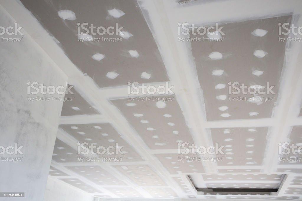 gypsum board installation