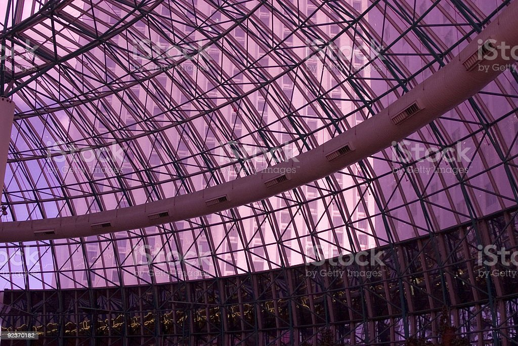 Ceiling in a Dome royalty-free stock photo