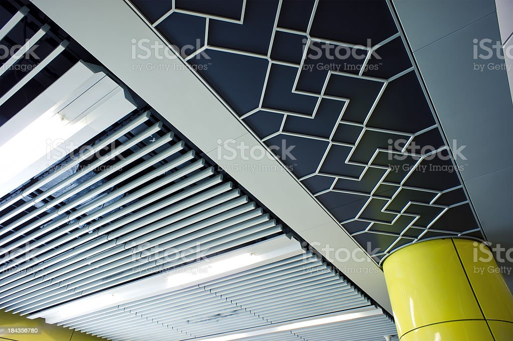 Ceiling Interior-Indoors Design royalty-free stock photo