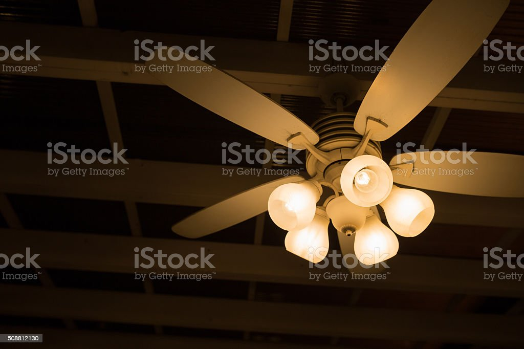 Ceiling lamp and fan stock photo more pictures of architecture ceiling lamp and fan royalty free stock photo aloadofball Image collections