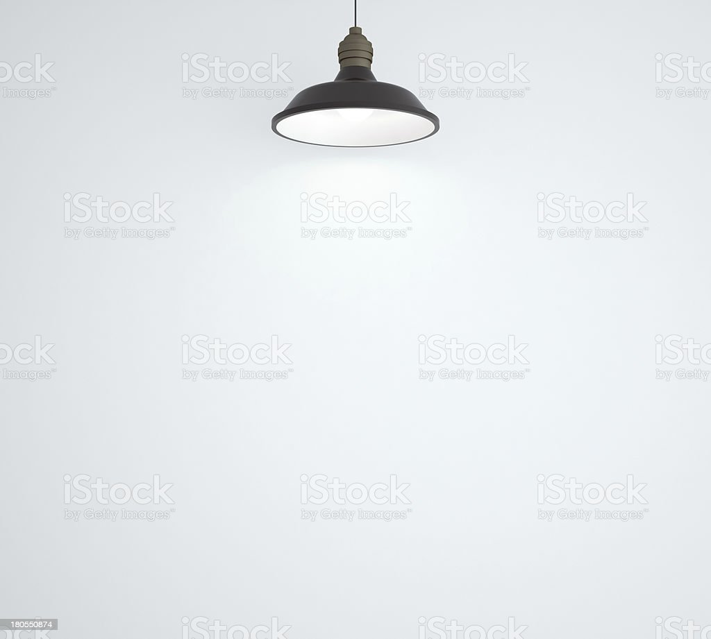 ceiling lamp royalty-free stock photo