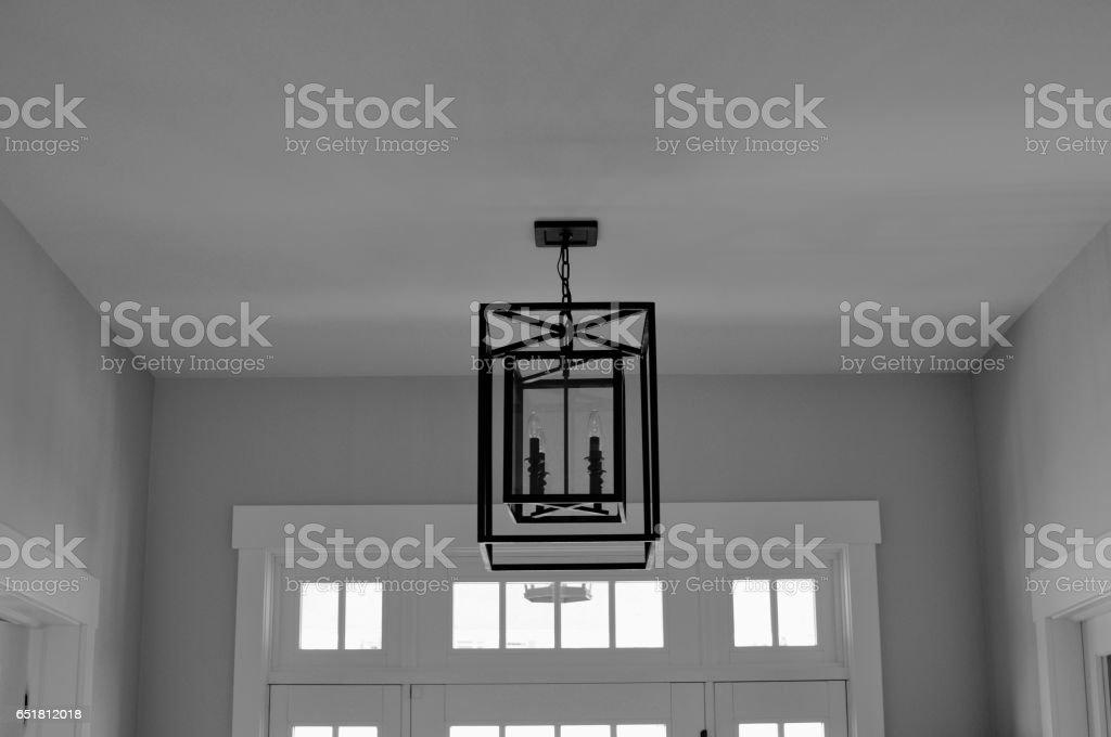Ceiling Light Fixture stock photo