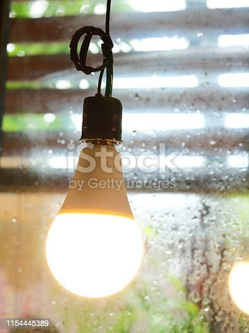 864907996istockphoto Ceiling light in coffee cafe 1154445389