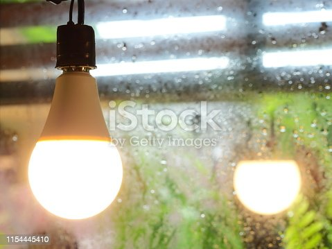 864907996istockphoto Ceiling light in coffee cafe 1154445410