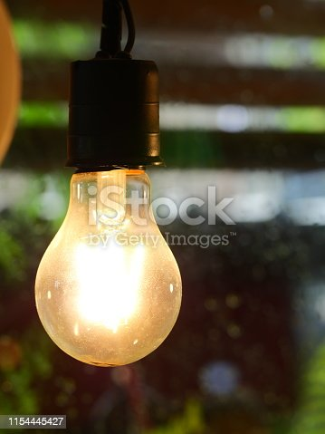 864907996istockphoto Ceiling light in coffee cafe 1154445427