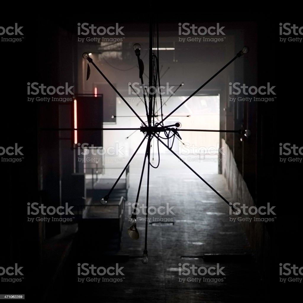 ceiling light royalty-free stock photo