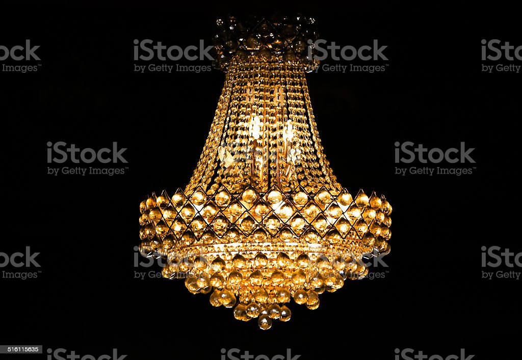 Ceiling Light with clipping path stock photo
