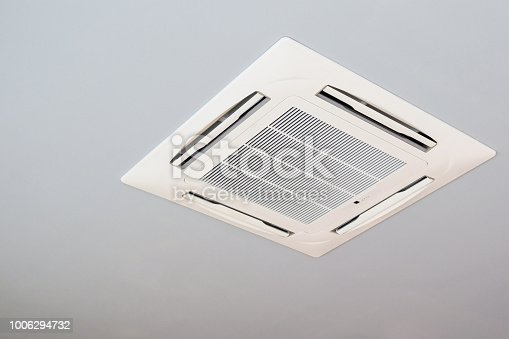 istock Ceiling mounted cassette type air conditioning system 1006294732