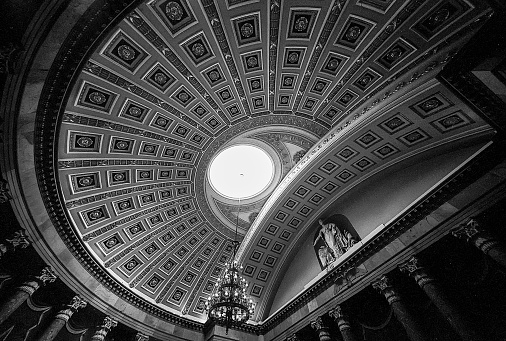 Ceiling Of The Old House Of Representatives Chamber
